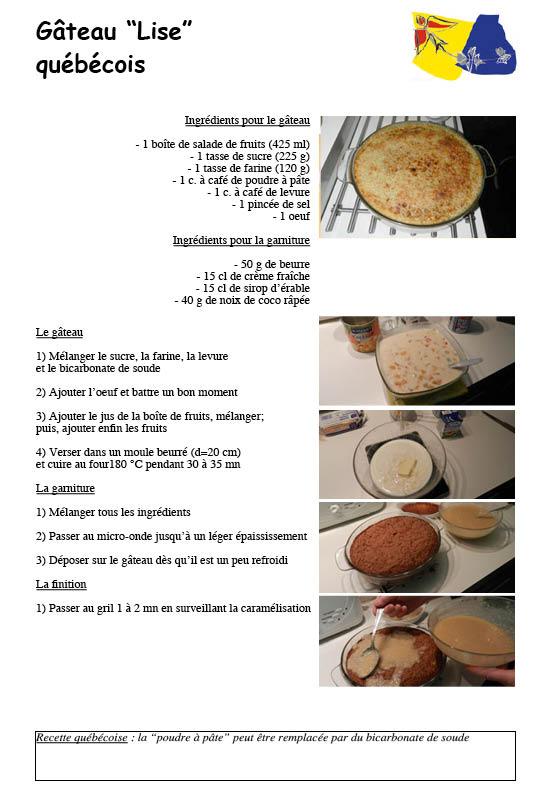 Le portail internet de lorraine qu bec cuisine qu b coise for Articles de cuisine quebec